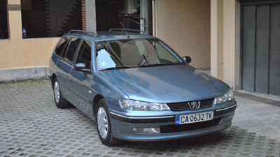 Peugeot 406 Wagon with injection sistem for LPG